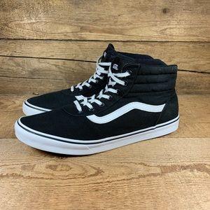 VANS Women's Sneakers High Top Retro Black Sz 11